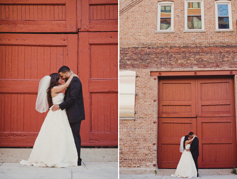 Chicago West Loop Wedding Portraits :: Redwall Photo