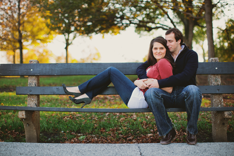 Promontory Point Engagement Session