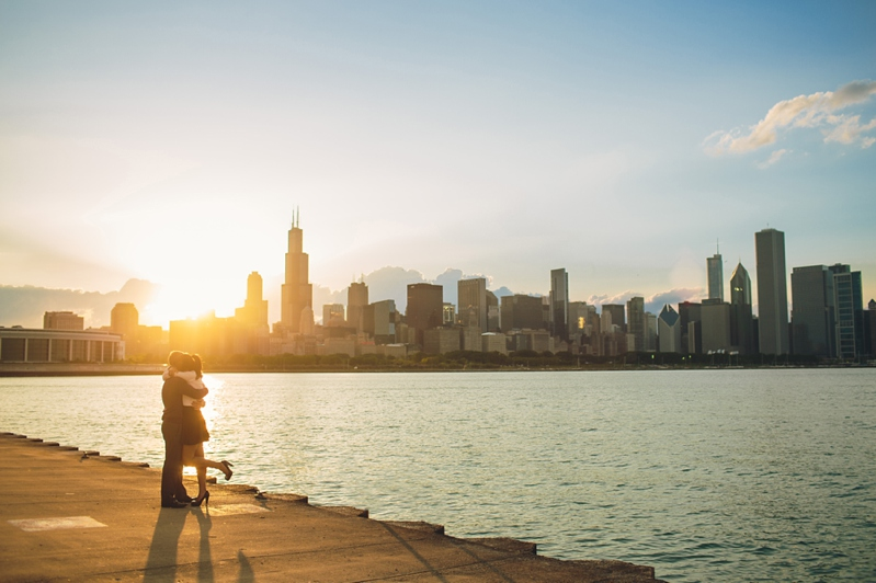 Adler Planetarium and Chicago museum campus engagement photo