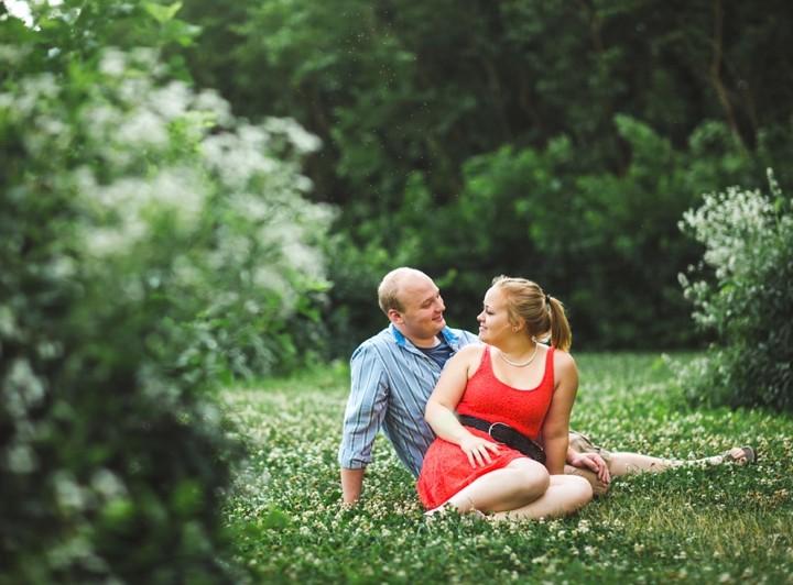 Milton Olive Park Engagement :: Carolyn & Jon