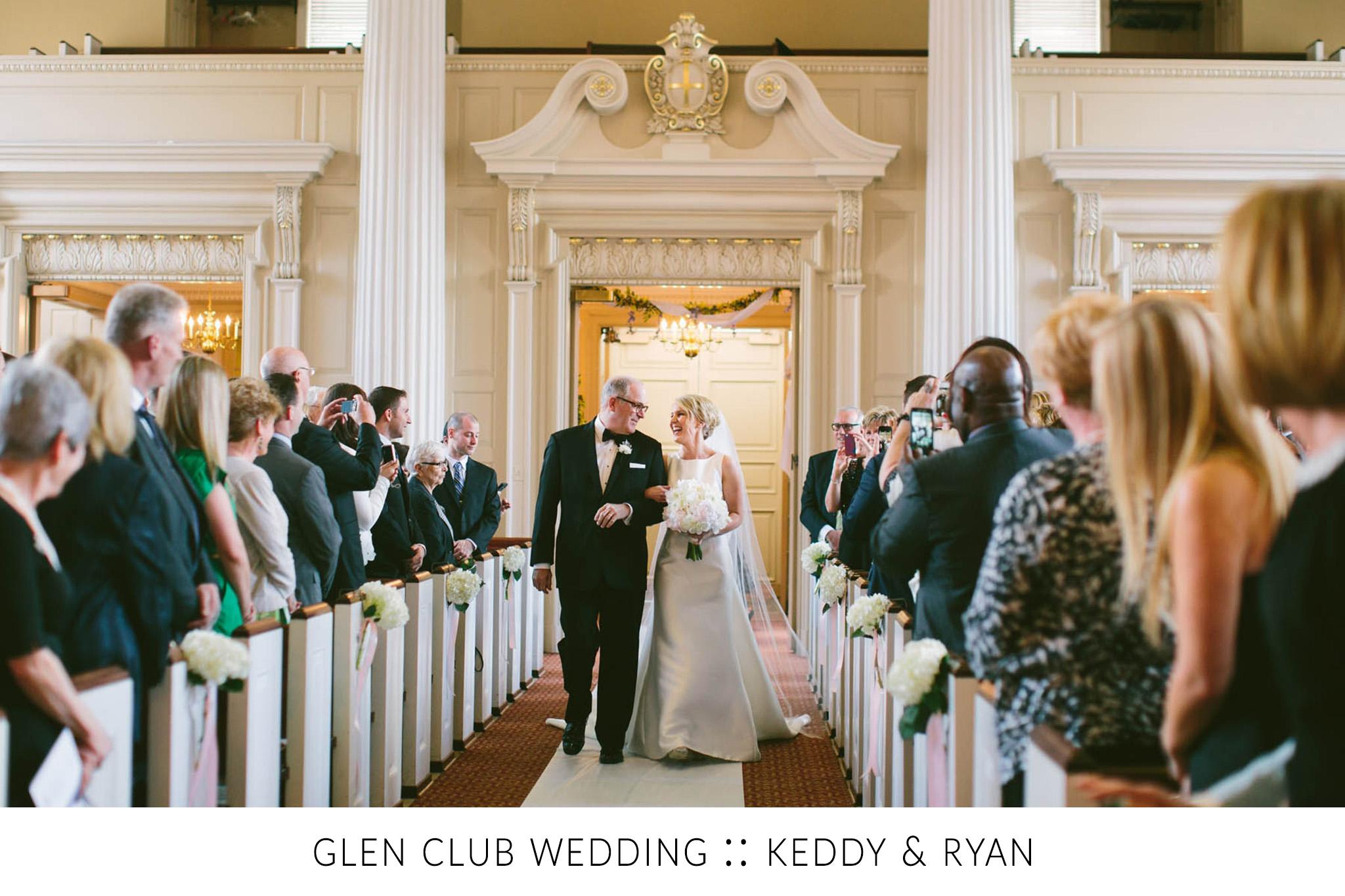 Glen Club Wedding