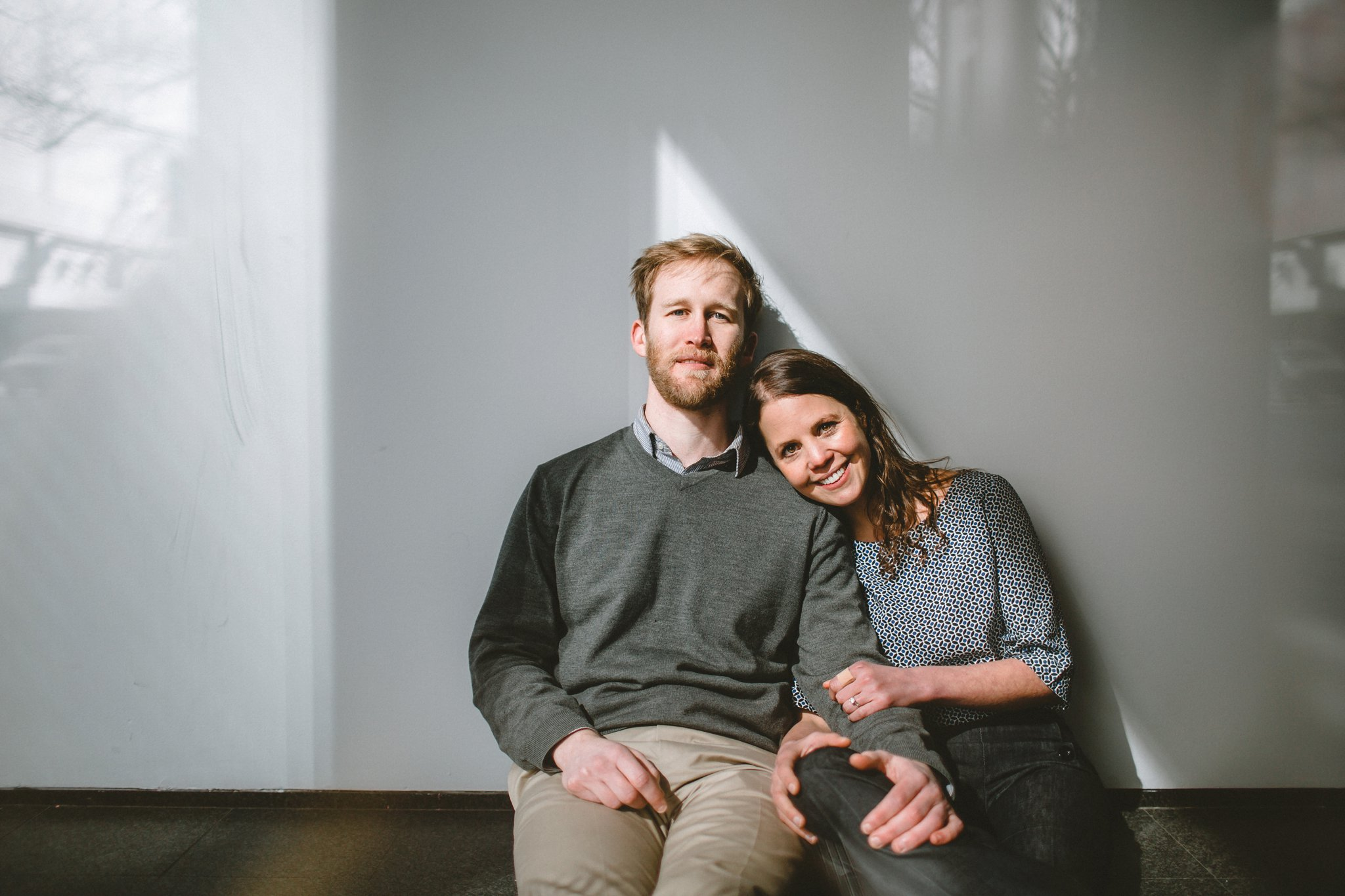 MCA Chicago engagement photography
