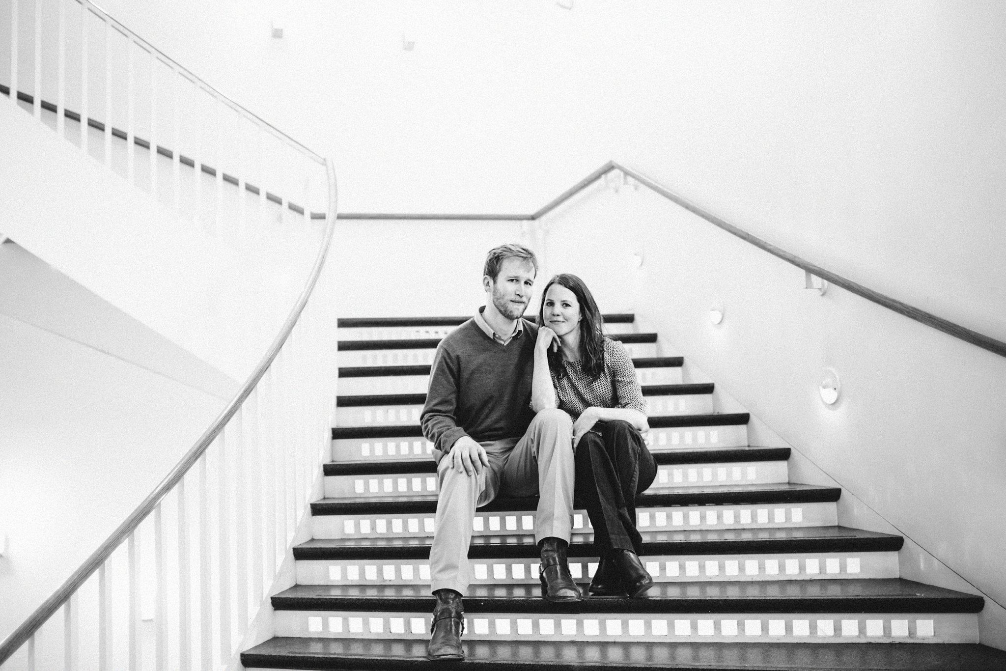 Museum of Contemporary Art Chicago engagement photography