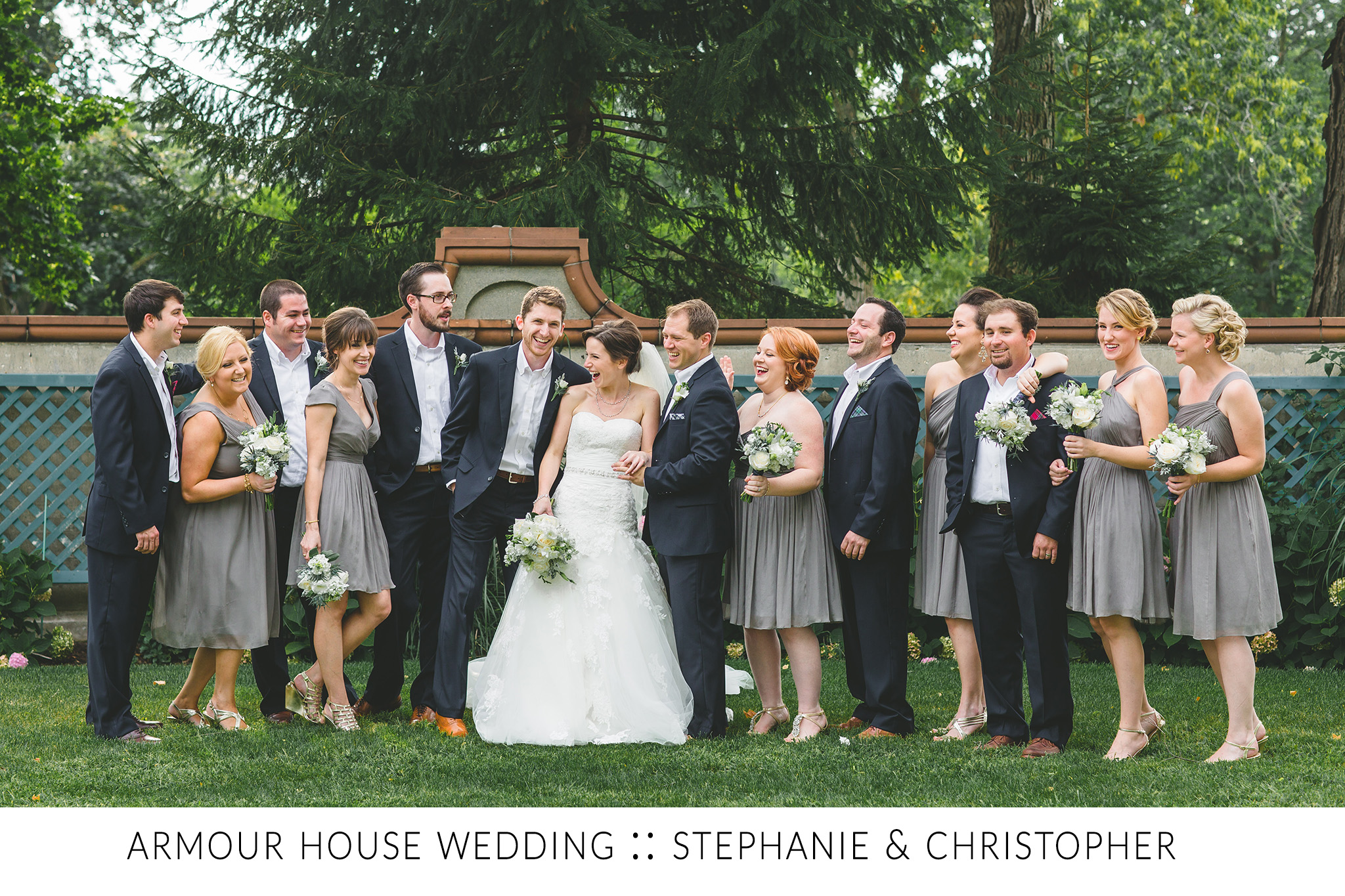 Armour House Wedding