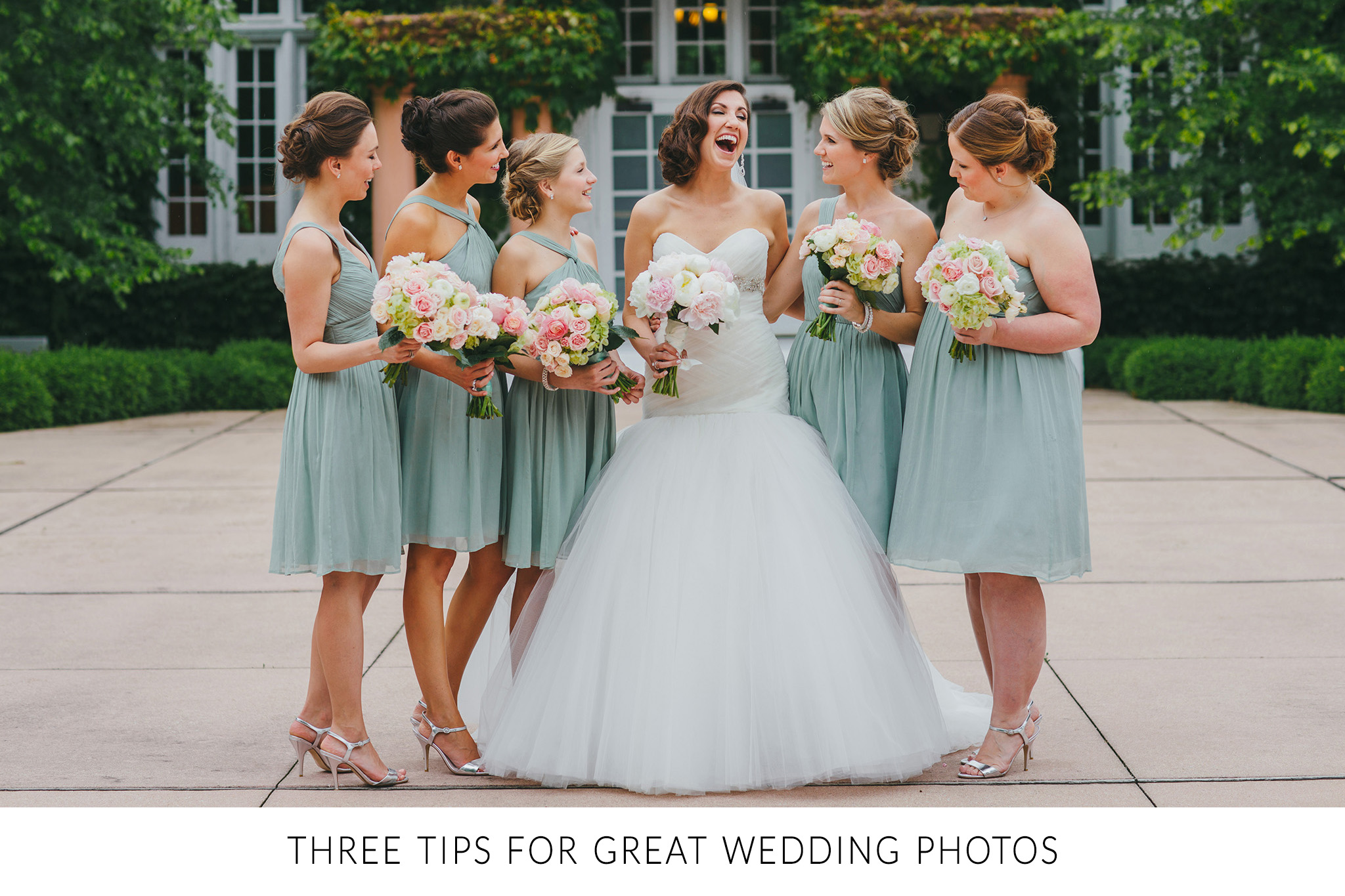 3 tips for great wedding photos