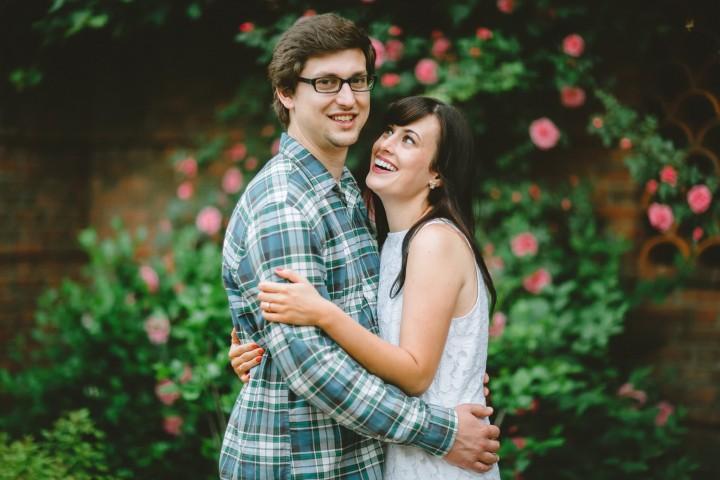 Chicago Botanic Garden Engagement :: Beth & Augie