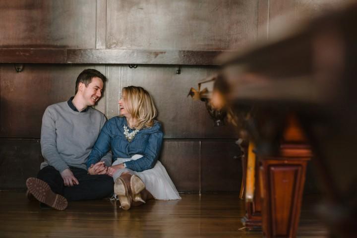 Southport Lanes Engagement :: Caitlin & Ben