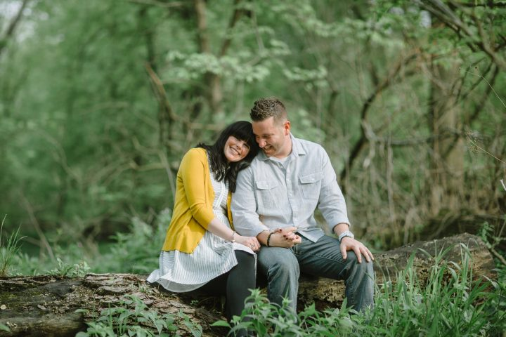 Riverside Engagement Session :: Tracy & Jason