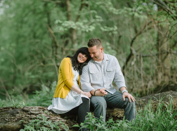 Riverside Engagement Session :: Tracy & Jason